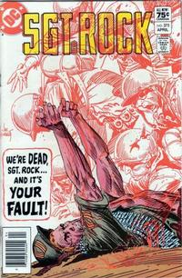 Cover Thumbnail for Sgt. Rock (DC, 1977 series) #375 [Canadian]