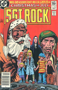 Cover Thumbnail for Sgt. Rock (DC, 1977 series) #378 [Canadian]