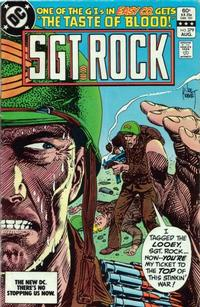 Cover Thumbnail for Sgt. Rock (DC, 1977 series) #379 [Direct]