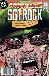Cover Thumbnail for Sgt. Rock (DC, 1977 series) #384 [Canadian]
