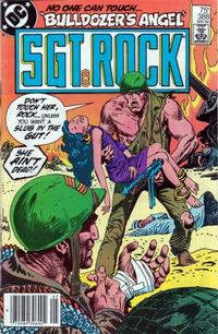 Cover Thumbnail for Sgt. Rock (DC, 1977 series) #388 [Newsstand]
