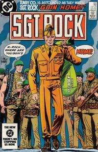 Cover Thumbnail for Sgt. Rock (DC, 1977 series) #392 [Direct]