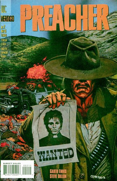 Cover for Preacher (DC, 1995 series) #2