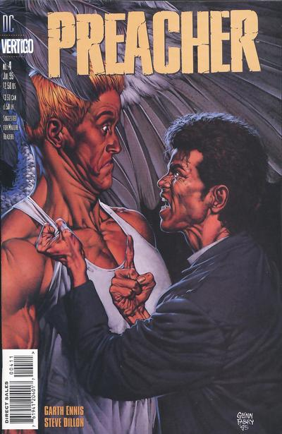 Cover for Preacher (DC, 1995 series) #4