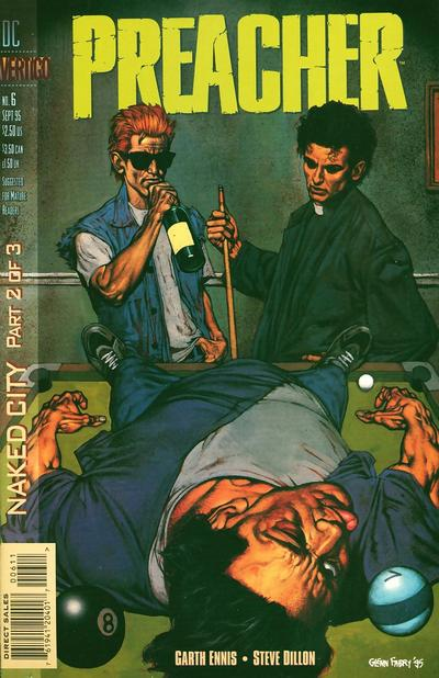Cover for Preacher (DC, 1995 series) #6