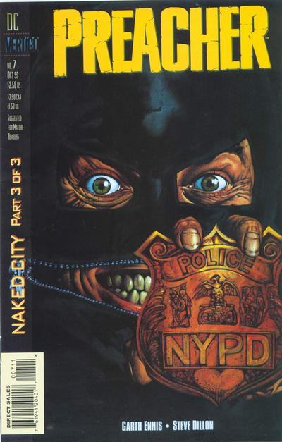 Cover for Preacher (DC, 1995 series) #7