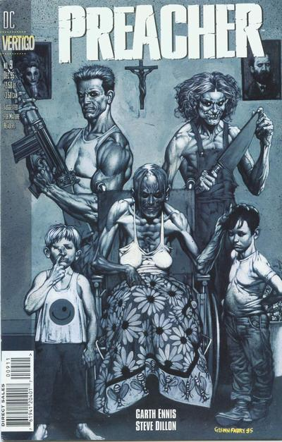 Cover for Preacher (DC, 1995 series) #9