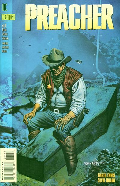 Cover for Preacher (DC, 1995 series) #11