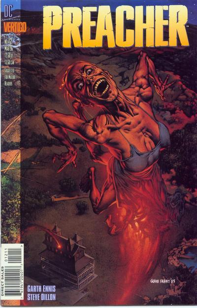 Cover for Preacher (DC, 1995 series) #12