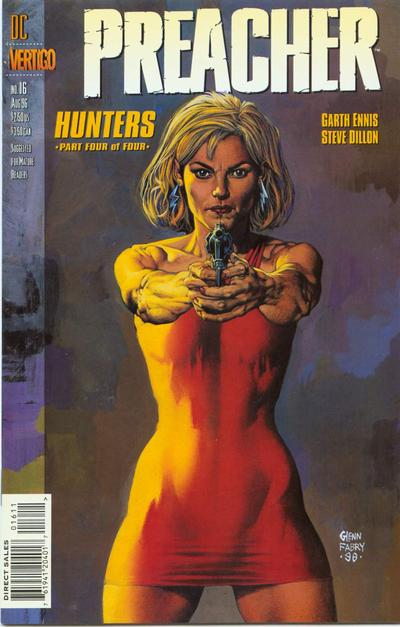 Cover for Preacher (DC, 1995 series) #16