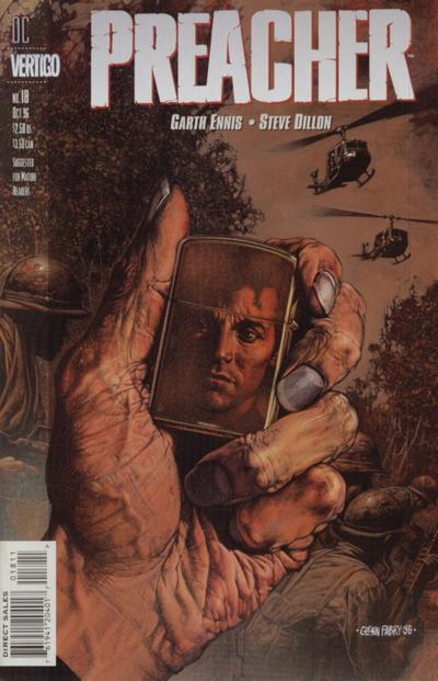 Cover for Preacher (DC, 1995 series) #18