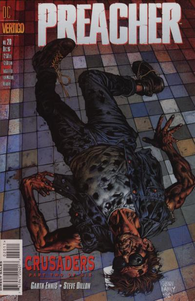 Cover for Preacher (DC, 1995 series) #20