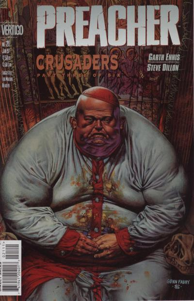 Cover for Preacher (DC, 1995 series) #21