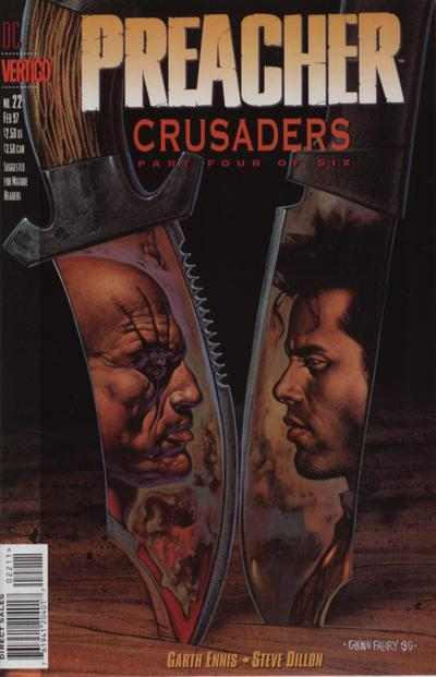 Cover for Preacher (DC, 1995 series) #22