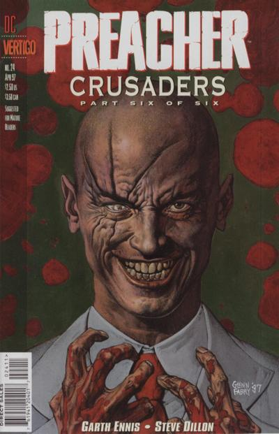 Cover for Preacher (DC, 1995 series) #24