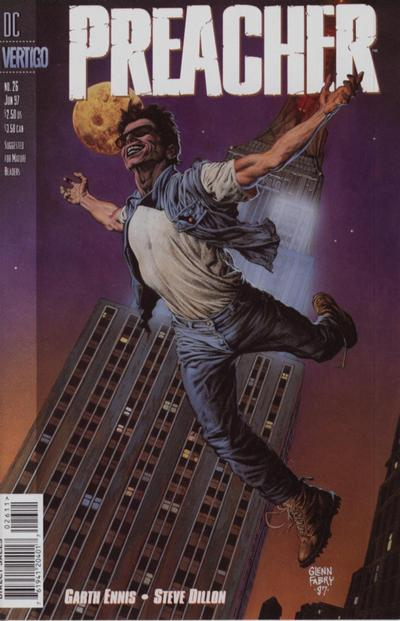 Cover for Preacher (DC, 1995 series) #26