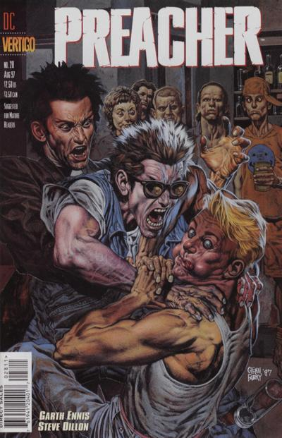Cover for Preacher (DC, 1995 series) #28