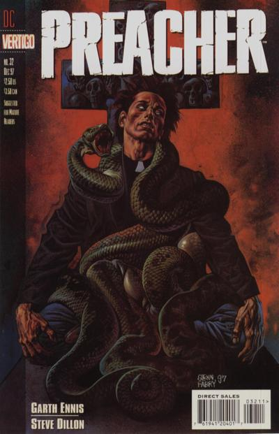 Cover for Preacher (DC, 1995 series) #32