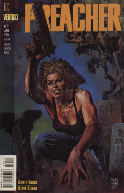 Cover for Preacher (DC, 1995 series) #33