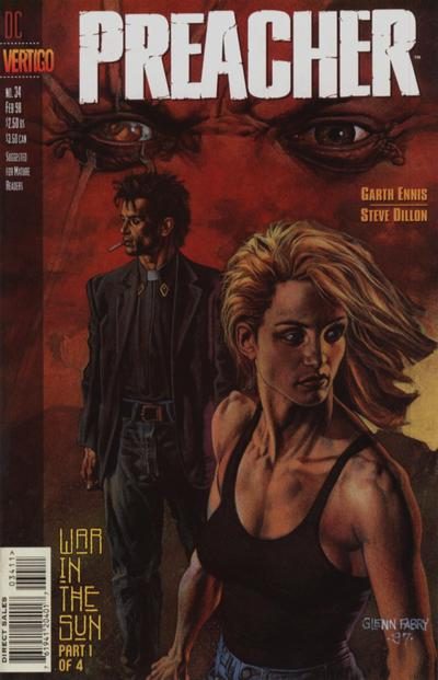 Cover for Preacher (DC, 1995 series) #34