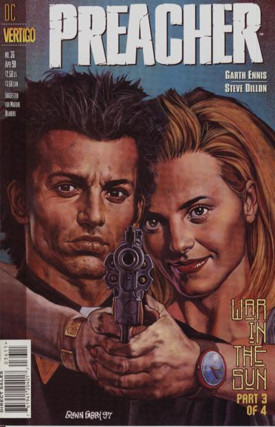 Cover for Preacher (DC, 1995 series) #36