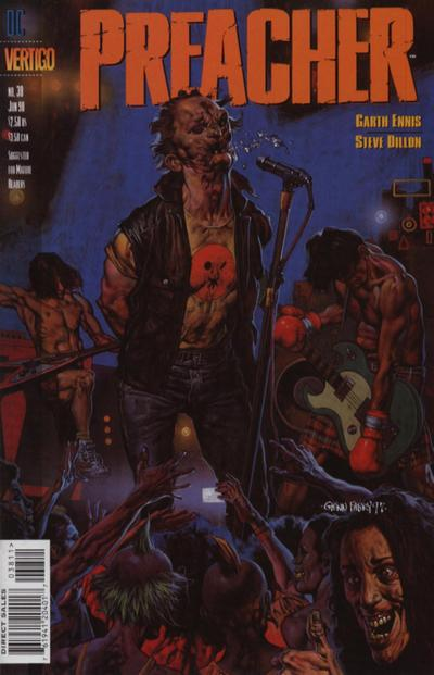 Cover for Preacher (DC, 1995 series) #38