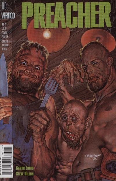 Cover for Preacher (DC, 1995 series) #39