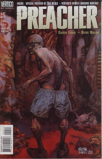 Cover for Preacher (DC, 1995 series) #42