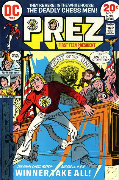 Cover for Prez (DC, 1973 series) #2