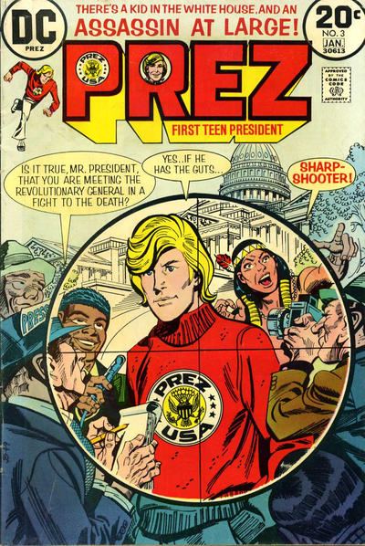 Cover for Prez (DC, 1973 series) #3
