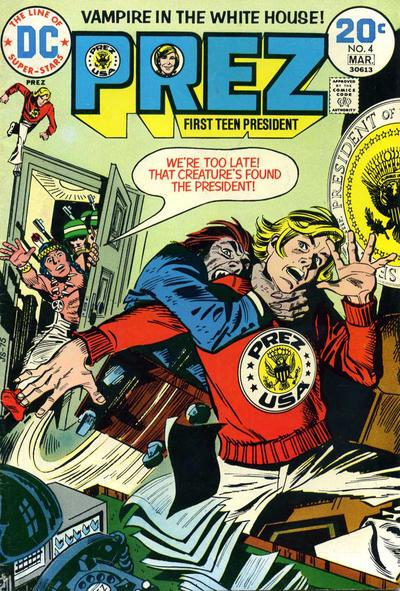 Cover for Prez (DC, 1973 series) #4