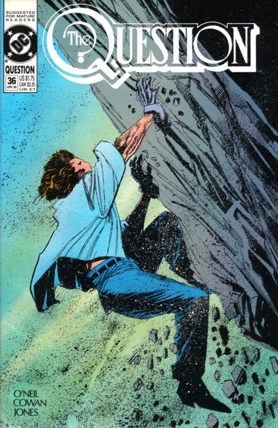 Cover for The Question (DC, 1987 series) #36