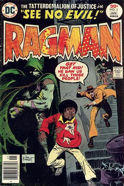 Cover for Ragman (DC, 1976 series) #3
