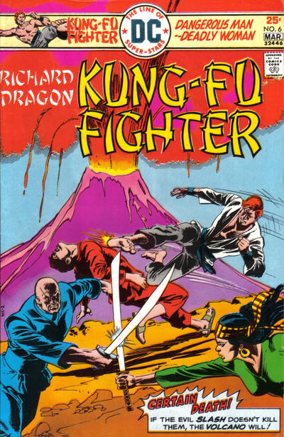 Cover for Richard Dragon, Kung-Fu Fighter (DC, 1975 series) #6