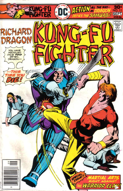Cover for Richard Dragon, Kung-Fu Fighter (DC, 1975 series) #11