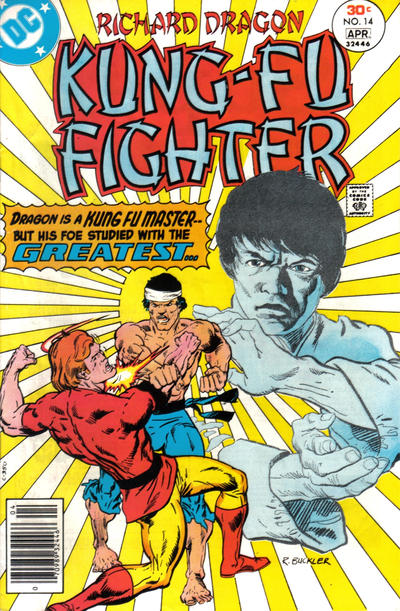 Cover for Richard Dragon, Kung-Fu Fighter (DC, 1975 series) #14