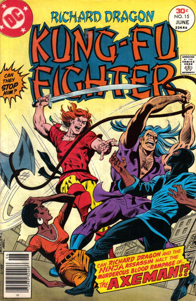 Cover for Richard Dragon, Kung-Fu Fighter (DC, 1975 series) #15