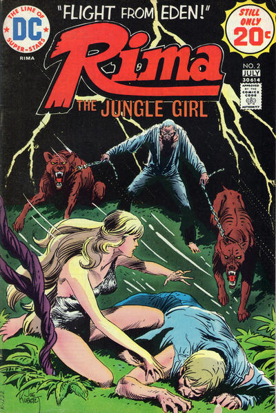 Cover for Rima, the Jungle Girl (DC, 1974 series) #2