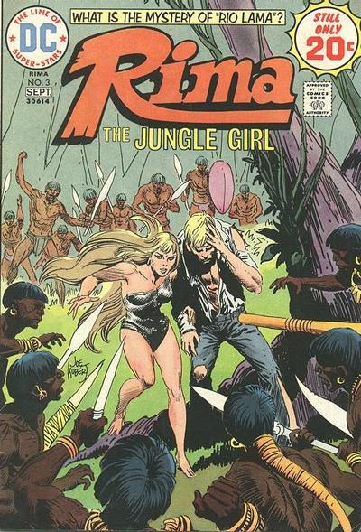 Cover for Rima, the Jungle Girl (DC, 1974 series) #3