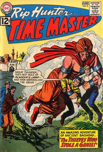 Cover for Rip Hunter ... Time Master (DC, 1961 series) #8