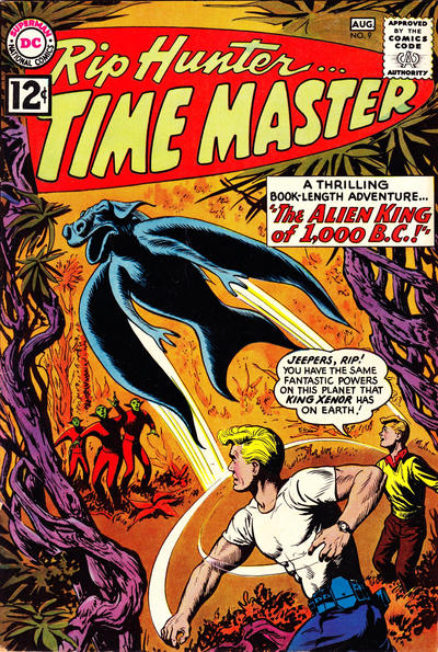 Cover for Rip Hunter ... Time Master (DC, 1961 series) #9