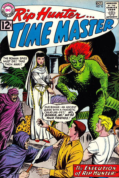 Cover for Rip Hunter ... Time Master (DC, 1961 series) #10