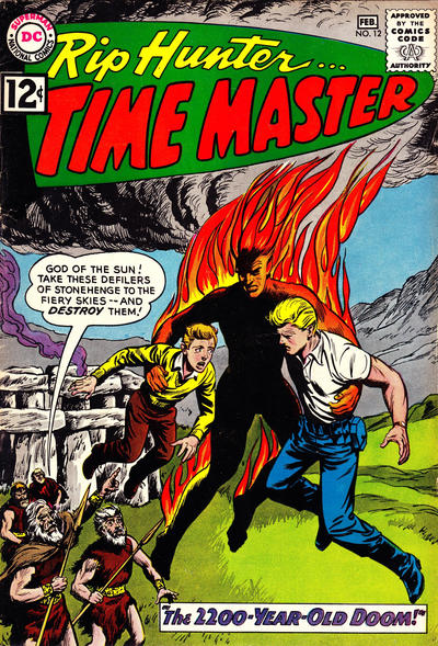 Cover for Rip Hunter ... Time Master (DC, 1961 series) #12