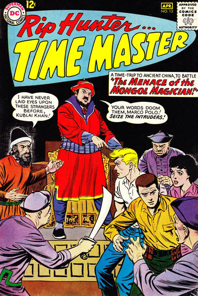 Cover for Rip Hunter ... Time Master (DC, 1961 series) #13
