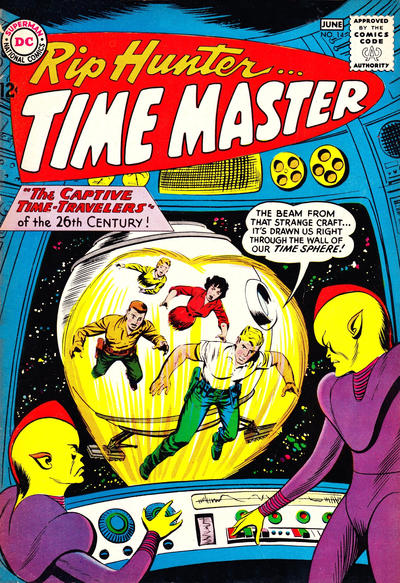 Cover for Rip Hunter ... Time Master (DC, 1961 series) #14