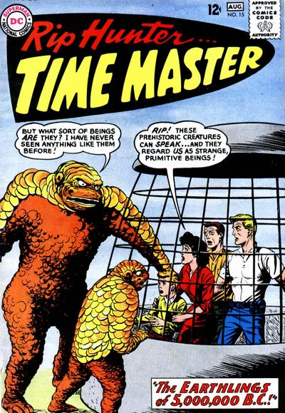 Cover for Rip Hunter ... Time Master (DC, 1961 series) #15
