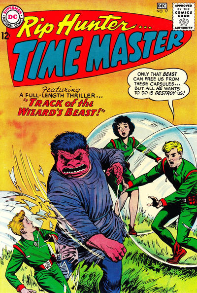 Cover for Rip Hunter ... Time Master (DC, 1961 series) #17