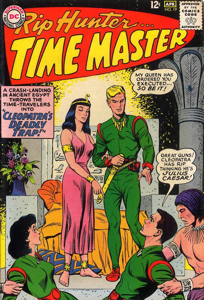 Cover for Rip Hunter... Time Master (DC, 1961 series) #19
