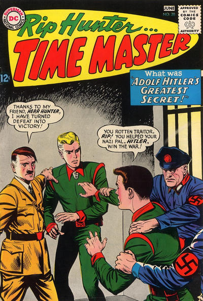 Cover for Rip Hunter ... Time Master (DC, 1961 series) #20