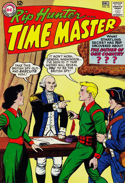 Cover for Rip Hunter ... Time Master (DC, 1961 series) #23